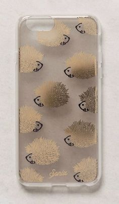Hedgehog iPhone 6 Case aka the cutest thing ever! Pinterest: @taylorstahl1