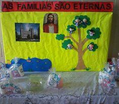 """As Tontas Vão Ao Céu: Atividade da Primária - """"As Famílias São Eternas"""" ..."""