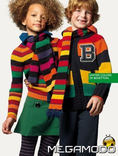 Cute and curly for Benetton.