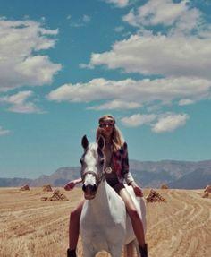 I like horse riding