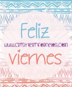 MUY MUY FELIZ VIERNES ❤ Y un dulce fin de semana! #happyfriday #EnmarcaBellosMomentos
