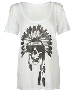 skull and an Indian! LOVE!!!