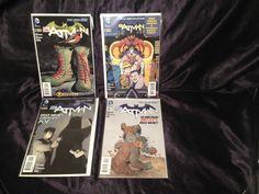 Batman #18-20  w/ #18 MAD Variant. DC Comic Books. Scott Snyder. Gregg Capullo