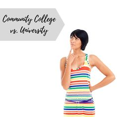 If you wonder about the difference between community college and university, you have come to the right place! I was a student at both levels, and I have Types Of Education, Career Education, Higher Education, Scholarships For College, College Students, College Classes, College Hacks, Apply For College, Technical Schools