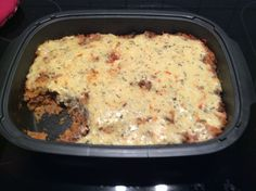 Minced meat and rice casserole - Minced meat and rice casserole from A Thermomix ® recipe from the main course with meat - Dark Beer, Actifry, Mince Meat, Rice Casserole, Pork Roast, Different Recipes, Freezer Meals, Lasagna, Macaroni And Cheese