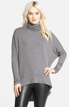 Madison & Berkeley Oversize Turtleneck Tunic (Nordstrom Exclusive) available at #Nordstrom