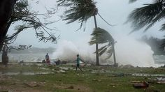 Cyclone devastates South Pacific islands of Vanuatu