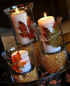 Thanksgiving decorating and table scape ideas. | Look around!