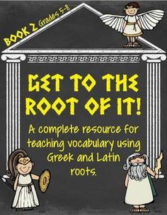 """UPDATE: Unit assessments are now included!!  HUGE 282 page resource that covers over 60 Greek and Latin roots and 200 different words.  Created for grades 5-8.  There are 20 units in this file. Each unit contains: *A 4-page student packet, which includes 6 different vocabulary activities *An individual """"Word & Definition Sort"""" *A set of 20  """"Concentration"""" game cards *A complete word wall with """"headers"""" for each root *A unit assessment *Also included are unit word lists and answe..."""