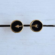 Black Arrow Studs available on www.bluewindows.net