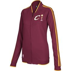 Cavaliers Ladies 2012-13 On Court Track Jacket $80 NEW