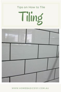 DIY - How to Tile a Kitchen Splashback Tiling made Easy and simple Helpful Tips to make it an easy project you can do at your home. Diy Outdoor Kitchen, Diy Kitchen, Kitchen Design, Kitchen Decor, Cheap Kitchen, Kitchen Ideas, Kitchen Splashback Tiles, Easy Projects, Home Renovation