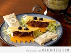 I believe that my tacos will look like this from now on... whether or not children are present :)