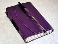 Purple Travel Journal.  #colorsofsummer