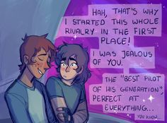 IF YOU TAP IT THERES LIKE A BUNCH OF ADORABLE KLANCE
