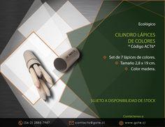 Cilindro Lápices de Colores