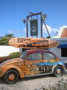 after some exploring we will most certainly be eating  Flying Fishbone! #aioutlet