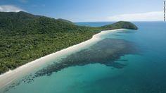 熱帯雨林と海が交わる豪クイーンズランド州ケープトリビュレーション=Tourism Queensland提供 ▼8Aug2012CNN|世界の絶景<下> モニュメントバレーから英国の鉱山跡まで http://www.cnn.co.jp/photo/35020062.html