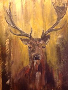 I ❤️ painting on wood