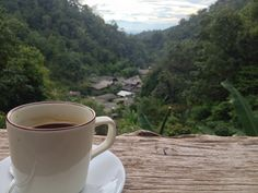 Sipping your coffee, Take a deep breath and See a good view #TakeMeTour