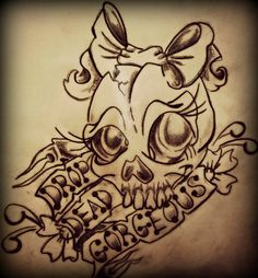 Drop Dead...drawing by Jessica Anderton