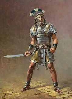 Ryse: Son of Rome by Sasha Beliaev & Lena Rivkina Greek Warrior, Fantasy Warrior, Roman Armor, Roman Centurion, Ancient Armor, Rome Antique, Roman Warriors, Roman Legion, Roman Soldiers
