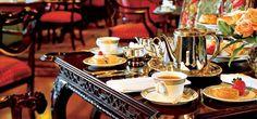 afternoon tea at the fairmont empress, victoria.