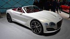 The Bentley EXP 12 Speed 6e Concept is the gentleman's open-air electric tourer - Autoblog