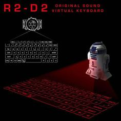 Image of the Day: Infrared Keyboard Mixed Signals, Image Of The Day, World Star, Star Wars Episodes, Cool Gadgets, Keyboard, Episode Vii, R2 D2, Surface