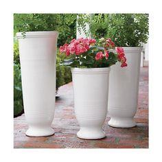 Luella Planters  | Crate and Barrel