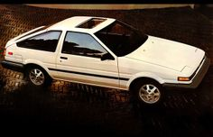 Race car desires on an econobox budget? These 10 cars might not be the fastest, but they're plenty cheap and plenty fun. Corolla Ae86, Toyota Corolla, Classic Trucks, Classic Cars, Original Godzilla, Dual Clutch Transmission, Japanese Market, Car Images, Car In The World