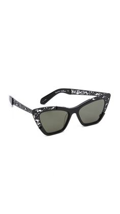 Karen Walker Siouxsie Filigree Sunglasses - I WANT THESE SO BADDDDDDDDDDD.