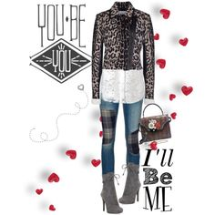 You be You. I'll be Me. by musicfriend1 on Polyvore featuring polyvore, fashion, style, Altuzarra, Les Copains, rag & bone/JEAN, Prada, Alexander McQueen and Alexis Bittar