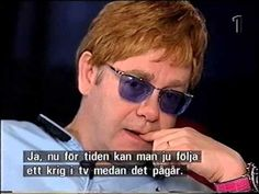 ELTON JOHN-2001-CHILDREN,DRUGS,HIS PARTNER. Very Very cool interview!!