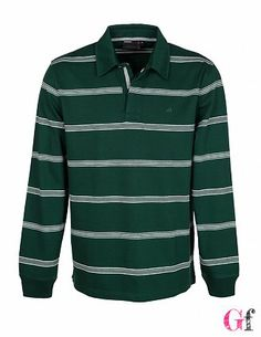Polo Riscas Verde #Quebramar #Goodfashion