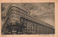Mendelsohn, Erich - Mossehaus, Berlin-Mitte, 1921-1923