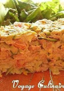 Terrine légère à la courgette et au thon Four, Buffet, Cabbage, Chicken, Quiches, Meat, Vegetables, Sauces, Pizza