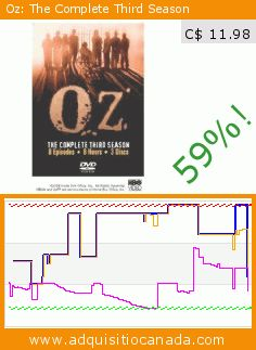 Oz: The Complete Third Season (DVD). Drop 59%! Current price C$ 11.98, the previous price was C$ 28.99. https://www.adquisitiocanada.com/hbo-warner/oz-complete-third-season