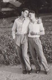 Vintage photographs of gay and lesbian couples and their stories. Vintage Photographs, Vintage Photos, Lgbt History, Cute Gay Couples, Lesbian Couples, Man In Love, Vintage Men, The Past, Tumblr