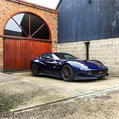 #Ferrari F12 TDF painted in Le Mans Blue  Photo taken by…