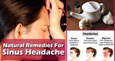How To Get Rid Of A Sinus Headache
