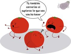 tomates rellenos, ilustración
