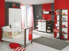 Red Baby Boys Room Ideas