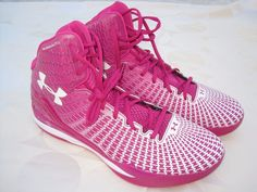 Under Armour TB CLUTCHFIT DRIVE PINK BASKETBALL SHOES 1259065 654