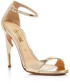 From dejmoda.com - Jerome C. Rousseau Malibu Ankle Strap High Heel Sandals