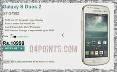 PRE-ORDER STARTED FOR SAMSUNG GALAXY S-DUOS 2-PRICED TO RS.10,999 ~ Q 4 POINTS