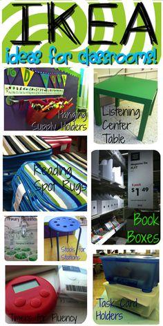 14 Stunning Classroom Decorating Ideas to Make Your Classroom Sparkle Decorating the Classroom With Ikea Items - Teach Junkie