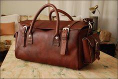 travel handmade leather-SR   We Heart It