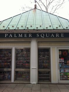 restaurants, shopping, & so much more!  Palmer Square, Princeton, NJ