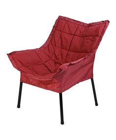Loving this Burgundy Milano Chair on #zulily! #zulilyfinds